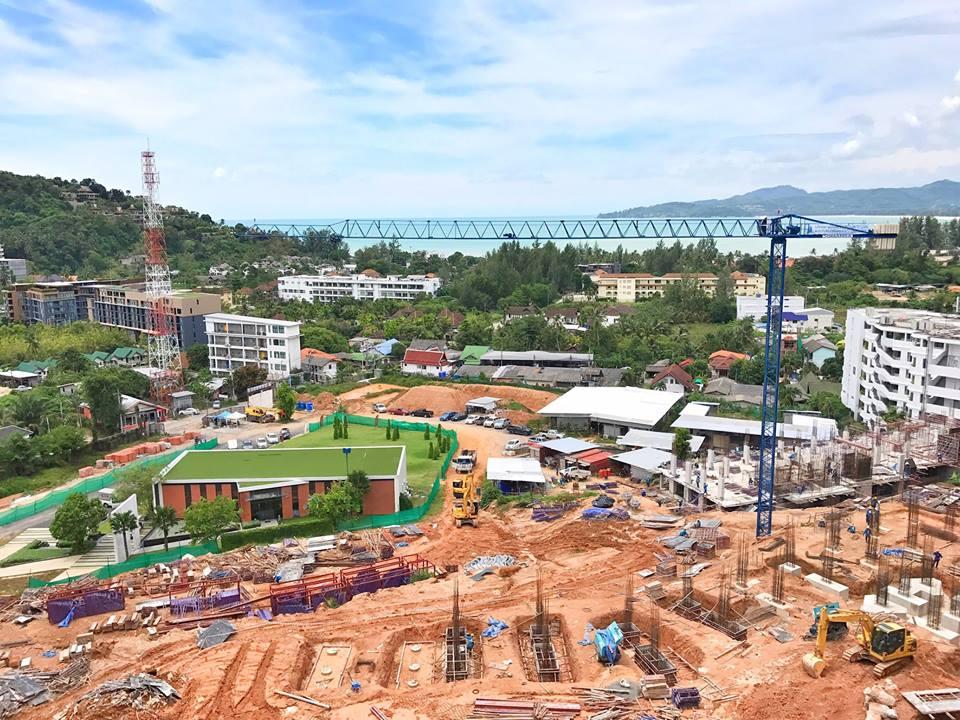 строительство жк Панора на Банг Тао/Сурин Пхукет
